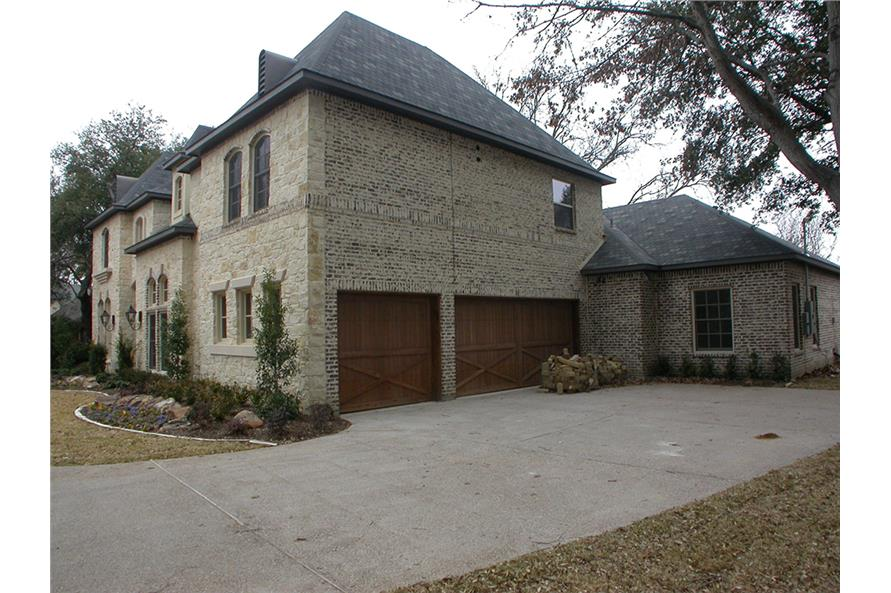 Right Side View of this 5-Bedroom,5327 Sq Ft Plan -5327