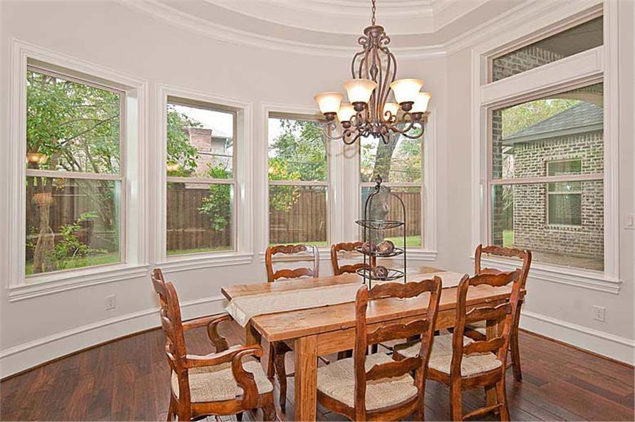 Kitchen: Breakfast Nook of this 5-Bedroom,5327 Sq Ft Plan -5327