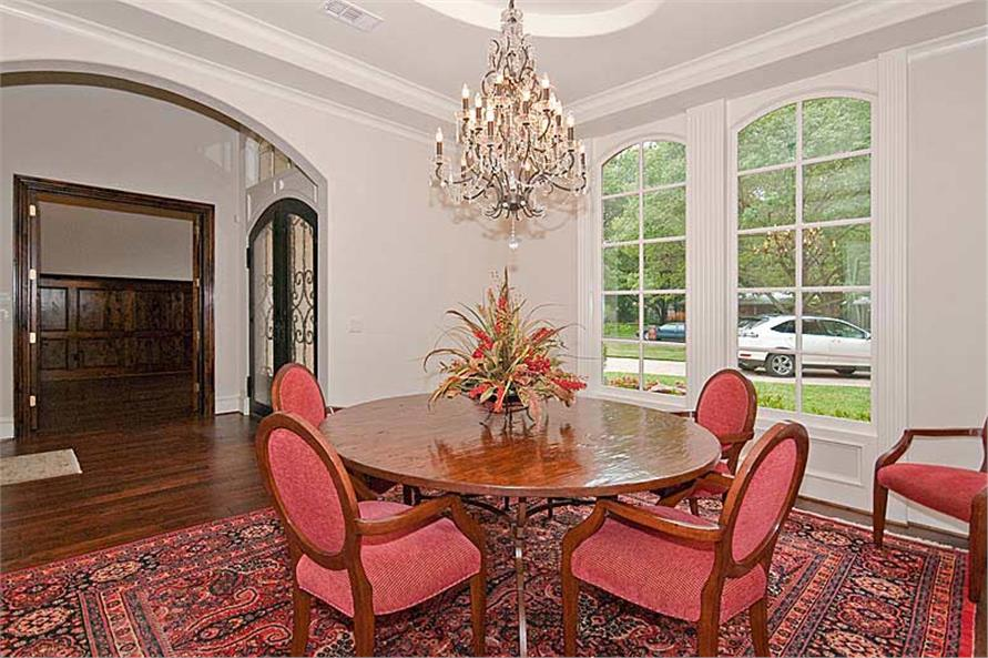 Dining Room of this 5-Bedroom,5327 Sq Ft Plan -5327
