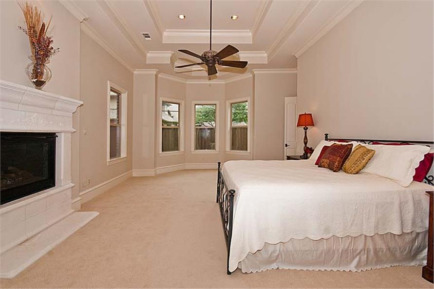 Master Bedroom of this 5-Bedroom,5327 Sq Ft Plan -5327