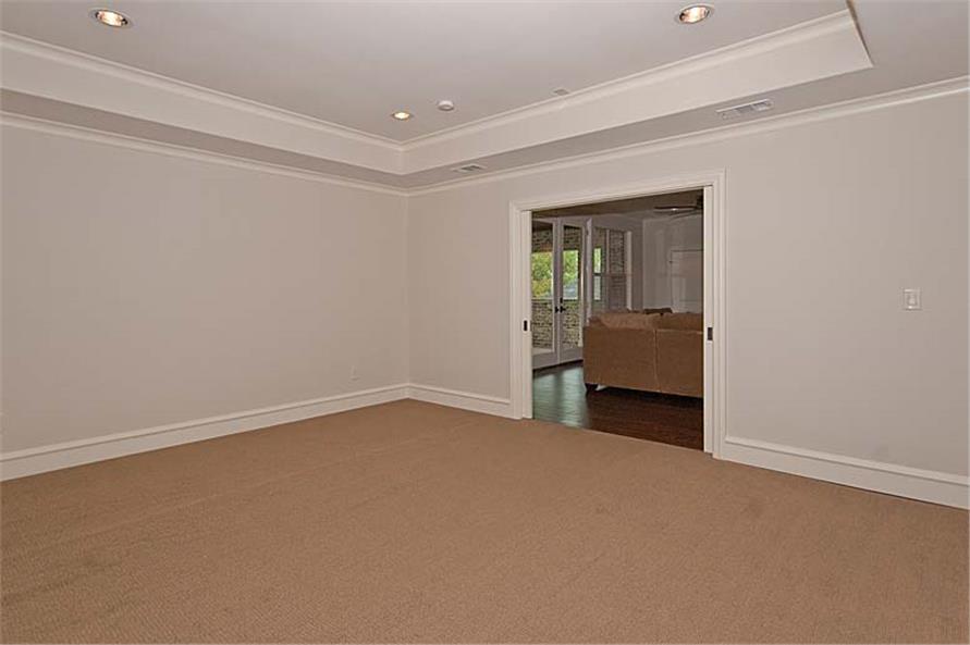 Media Room of this 5-Bedroom,5327 Sq Ft Plan -5327
