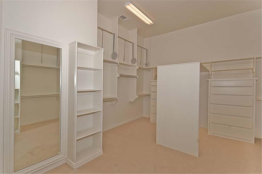 Storage and Closets of this 5-Bedroom,5327 Sq Ft Plan -5327