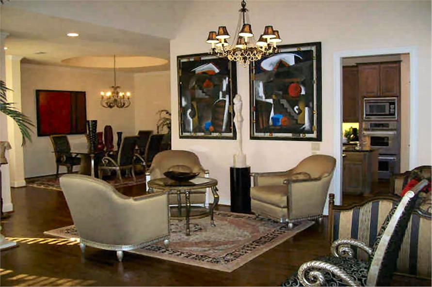 Dining Room of this 3-Bedroom,3329 Sq Ft Plan -3329