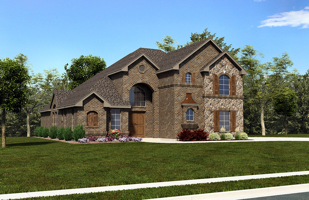 5 bedrm 3062 sq ft european house plan 195 1014 for European homes