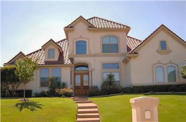 4-Bedroom, 3761 Sq Ft Luxury Home Plan - 195-1022 - Main Exterior