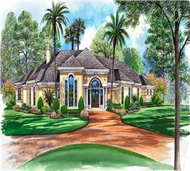 House Plan #195-1051