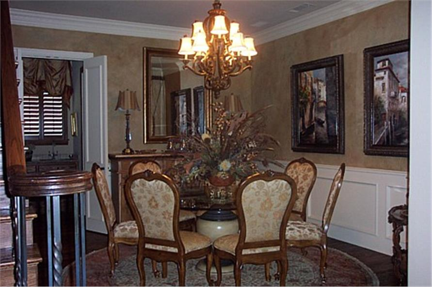 195-1067: Home Interior Photograph-Dining Room