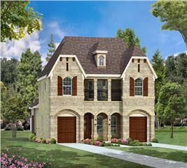 House Plan #195-1086