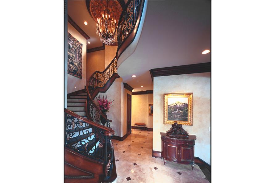 Entry Hall: Foyer of this 3-Bedroom,5343 Sq Ft Plan -5343