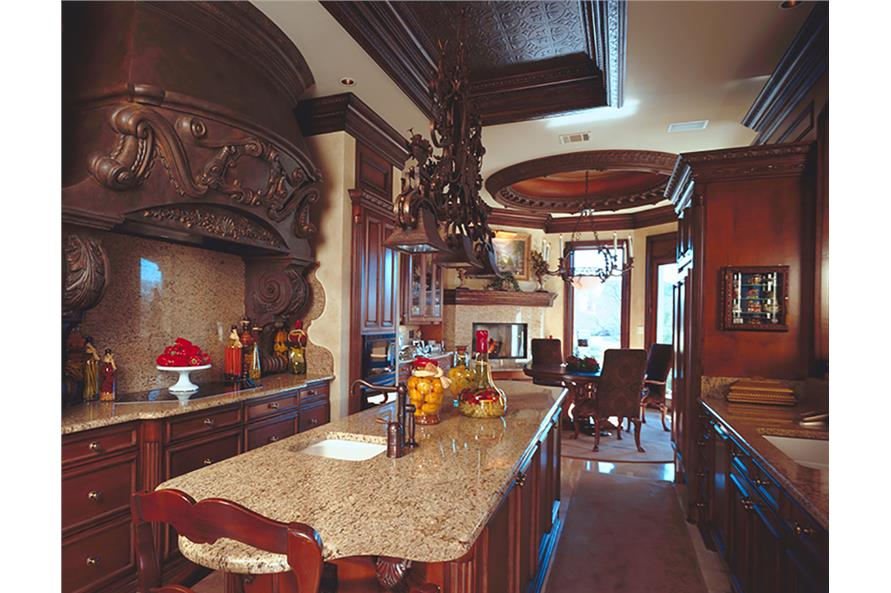 Kitchen of this 3-Bedroom,5343 Sq Ft Plan -5343