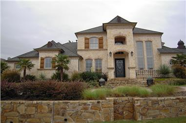 5-Bedroom, 5462 Sq Ft Mediterranean Home Plan - 195-1096 - Main Exterior
