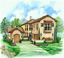 House Plan #195-1097