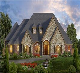 House Plan #195-1103