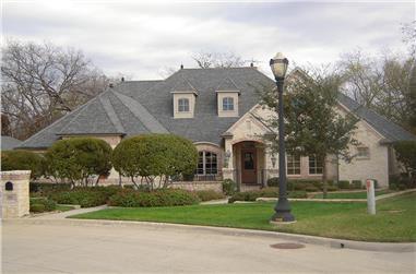 5-Bedroom, 4775 Sq Ft Tudor Home Plan - 195-1105 - Main Exterior