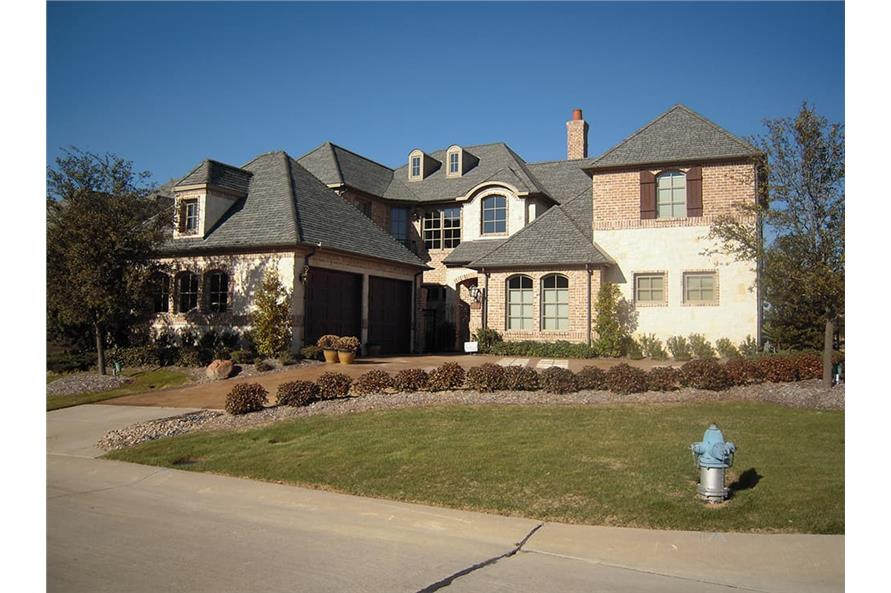 Front View of this 4-Bedroom,4117 Sq Ft Plan -4117