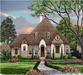 House Plan #195-1116