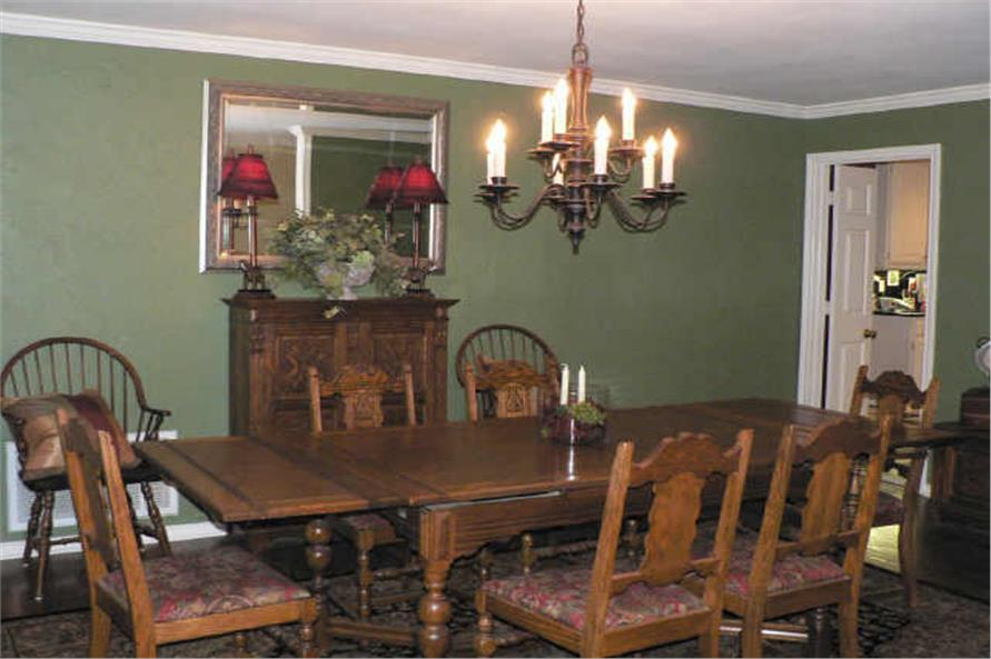 Dining Room of this 4-Bedroom,3525 Sq Ft Plan -3525