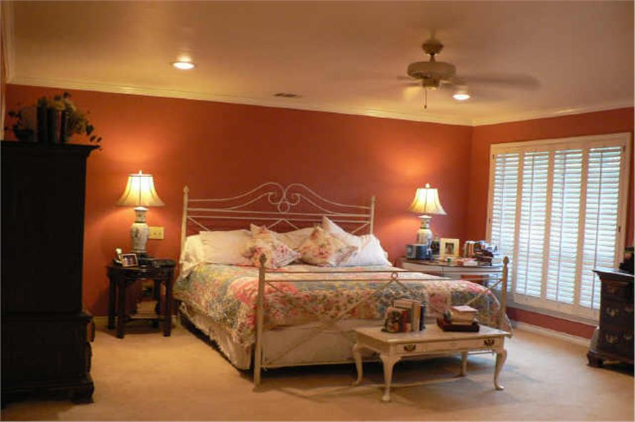 Master Bedroom of this 4-Bedroom,3525 Sq Ft Plan -3525