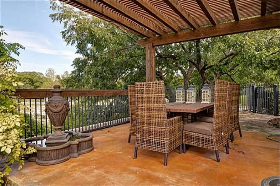 Balcony of this 4-Bedroom,8647 Sq Ft Plan -8647