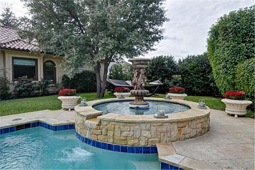 Pool of this 4-Bedroom,8647 Sq Ft Plan -8647
