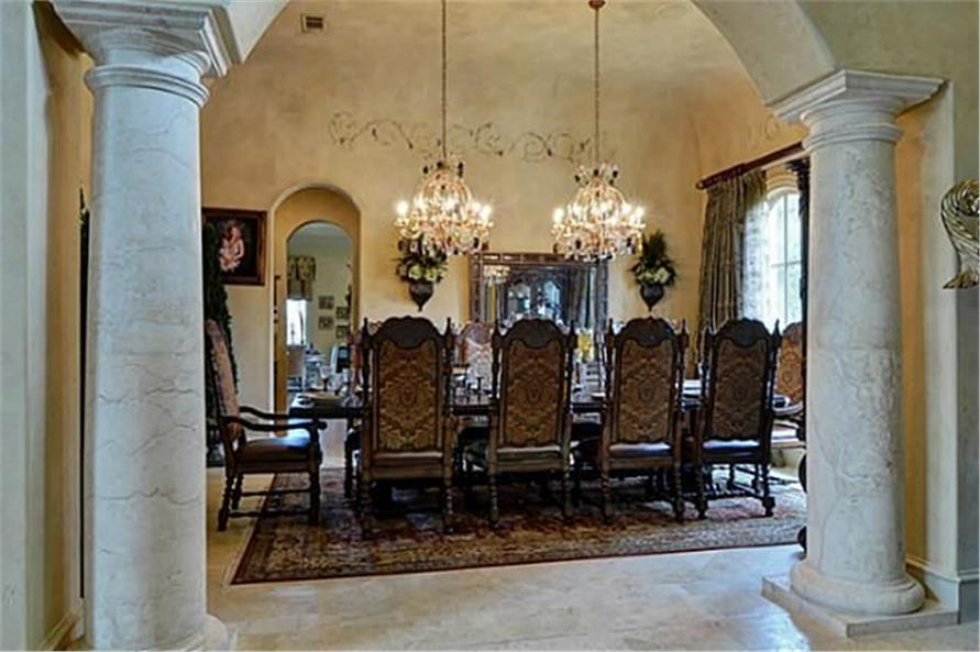 Dining Room of this 4-Bedroom,8647 Sq Ft Plan -8647