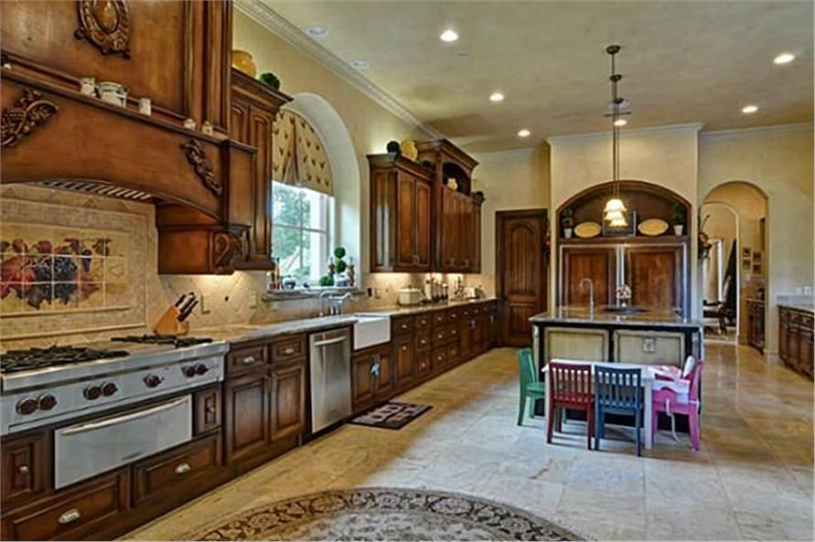 Kitchen of this 4-Bedroom,8647 Sq Ft Plan -8647