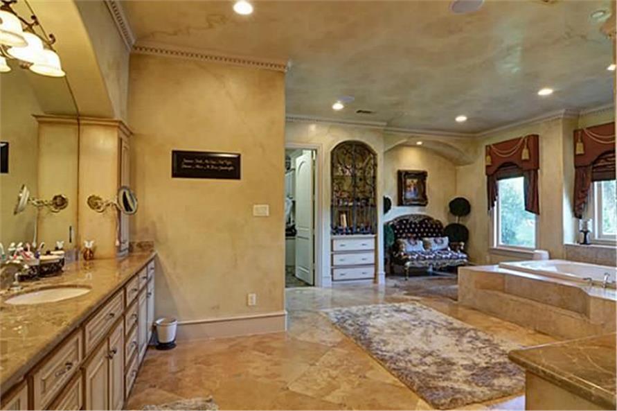 Bathroom of this 4-Bedroom,8647 Sq Ft Plan -8647