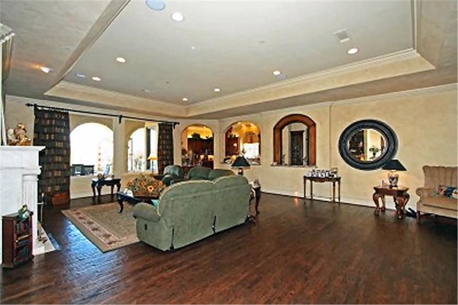 Home Office: Den of this 4-Bedroom,8647 Sq Ft Plan -8647