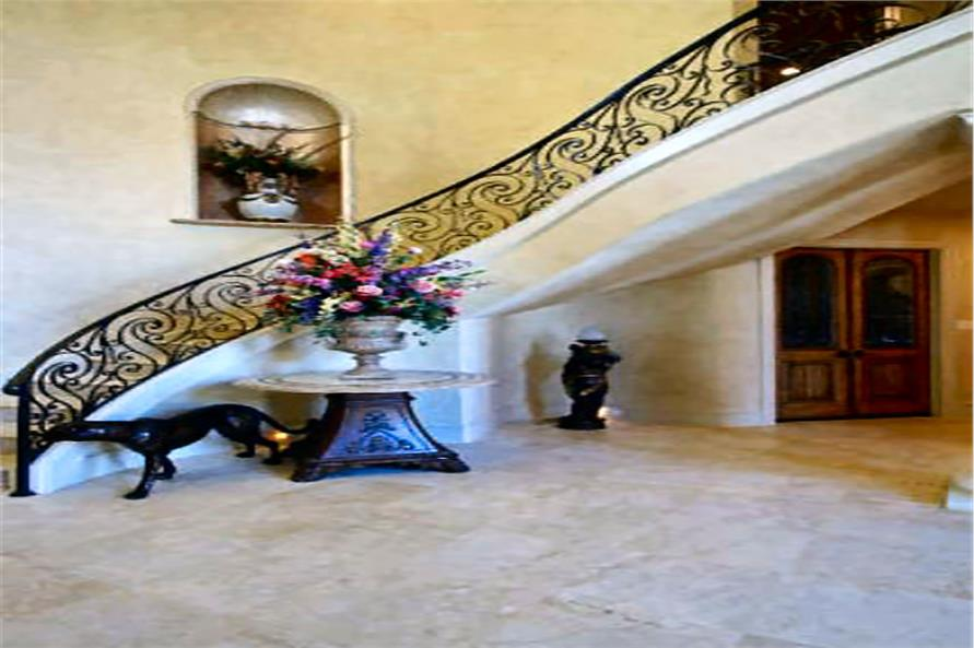 Entry Hall: Foyer of this 4-Bedroom,8647 Sq Ft Plan -8647