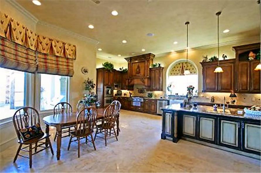 Kitchen: Breakfast Nook of this 4-Bedroom,8647 Sq Ft Plan -8647