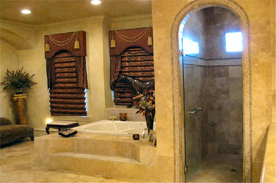 Master Bathroom of this 4-Bedroom,8647 Sq Ft Plan -8647
