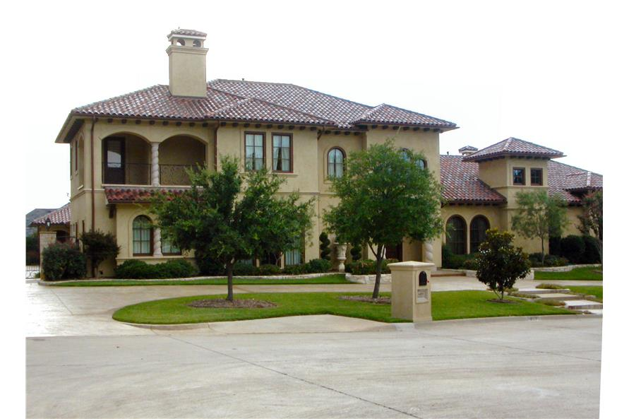 Home Exterior Photograph of this 4-Bedroom,8647 Sq Ft Plan -8647