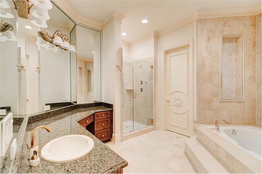 195-1127: Home Interior Photograph-Bathroom