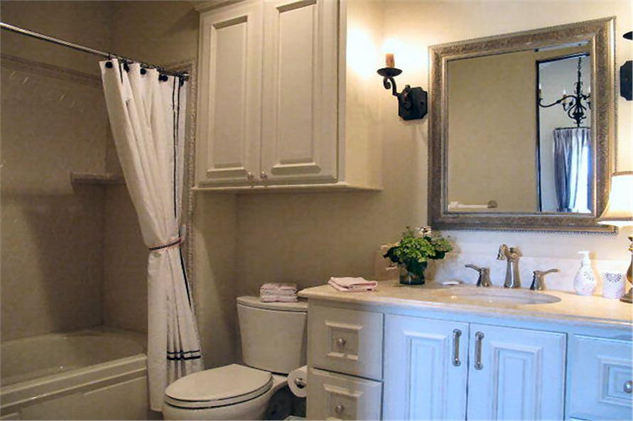 Bathroom of this 4-Bedroom,3858 Sq Ft Plan -3858