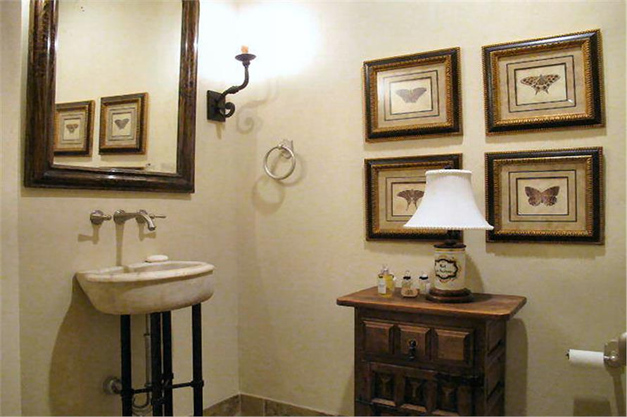 Powder Room of this 4-Bedroom,3858 Sq Ft Plan -3858