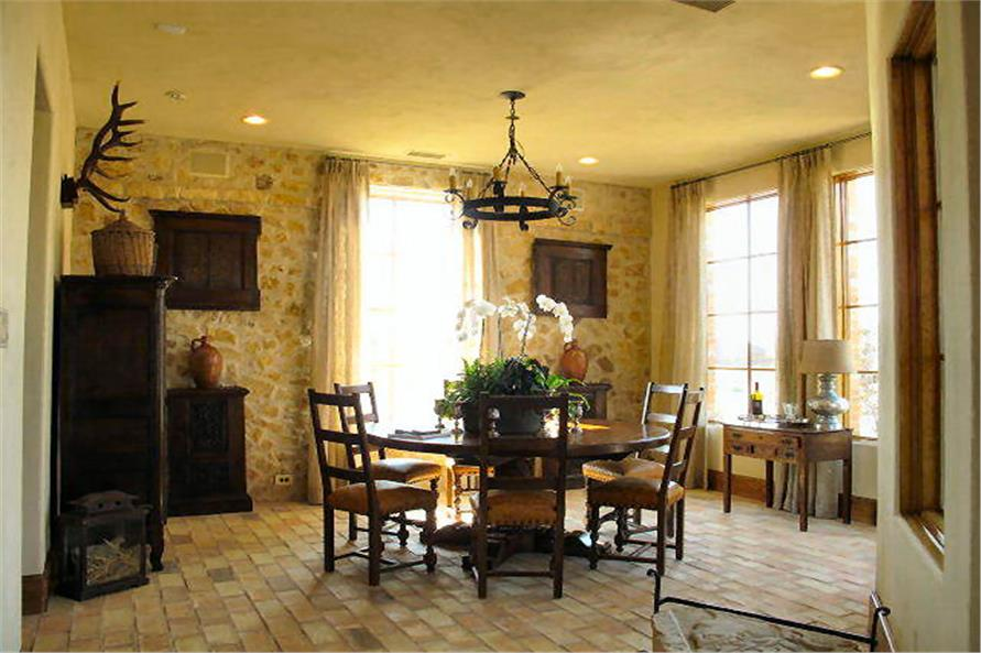 Dining Room of this 4-Bedroom,3858 Sq Ft Plan -3858