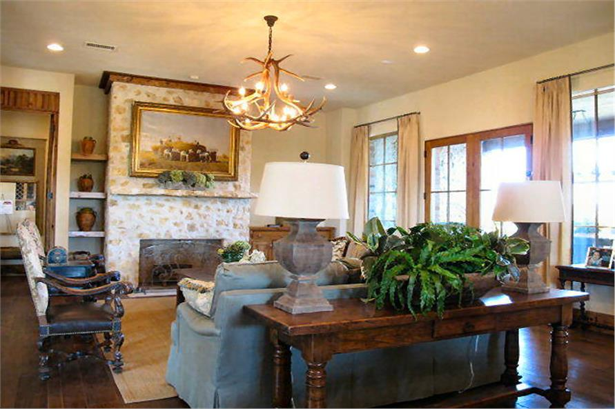 Family Room of this 4-Bedroom,3858 Sq Ft Plan -3858