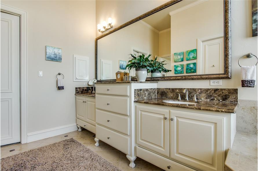 Master Bathroom of this 4-Bedroom,4873 Sq Ft Plan -4873