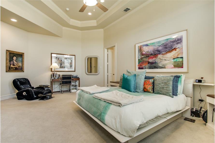 Bedroom of this 4-Bedroom,4873 Sq Ft Plan -4873