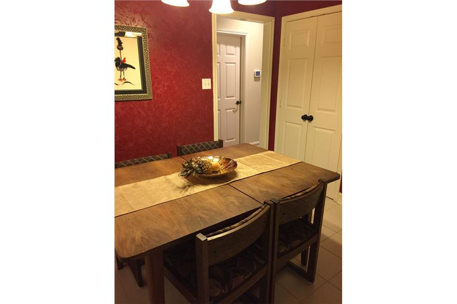 Dining Room of this 3-Bedroom,1861 Sq Ft Plan -1861