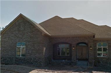 3-Bedroom, 3773 Sq Ft Craftsman Home Plan - 195-1158 - Main Exterior
