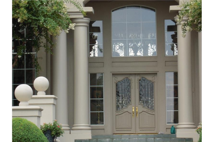 Front Door of this 4-Bedroom,6024 Sq Ft Plan -6024