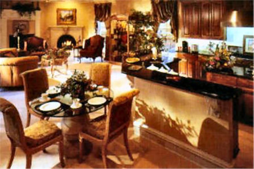 Kitchen: Breakfast Nook of this 4-Bedroom,6024 Sq Ft Plan -6024