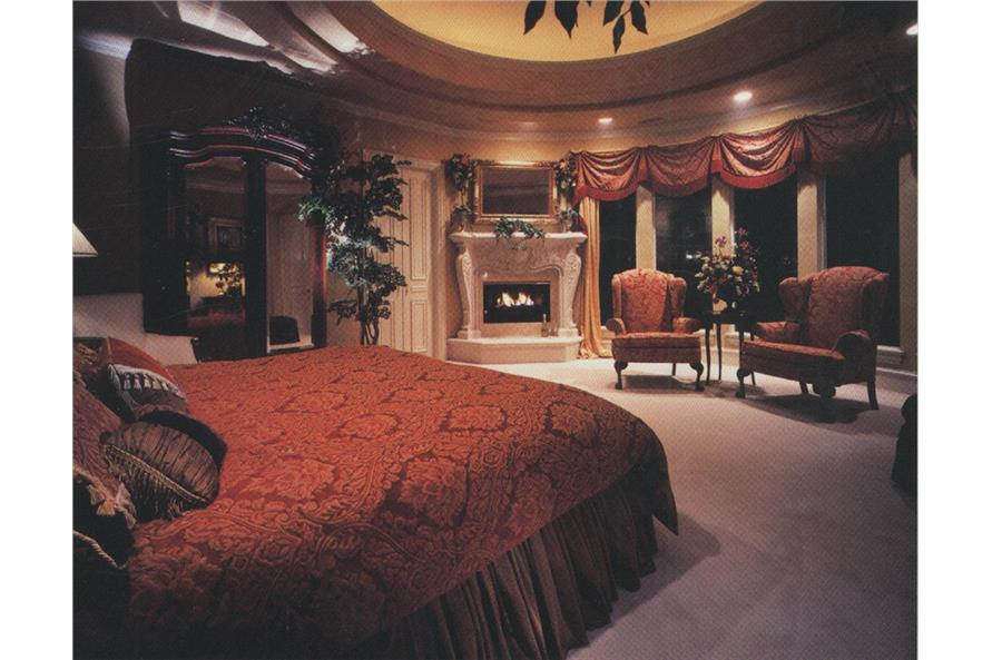 Master Bedroom of this 4-Bedroom,6024 Sq Ft Plan -6024