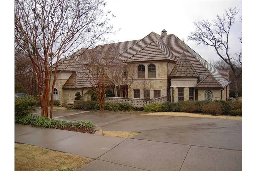 Home Exterior Photograph of this 5-Bedroom,7823 Sq Ft Plan -7823