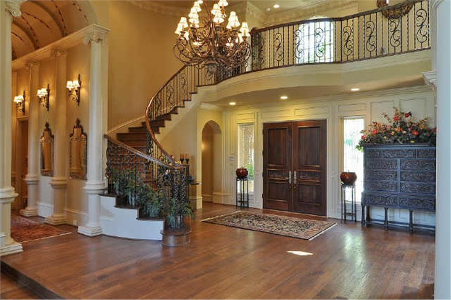 Entry Hall: Foyer of this 5-Bedroom,7823 Sq Ft Plan -7823