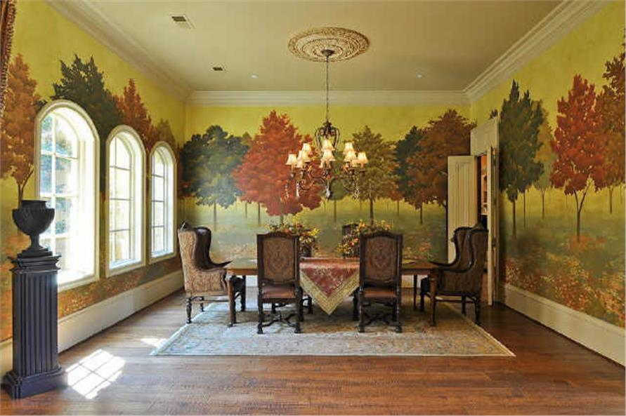 Dining Room of this 5-Bedroom,7823 Sq Ft Plan -7823