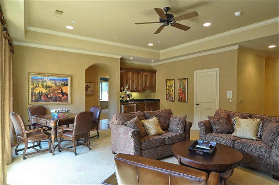 Playroom of this 5-Bedroom,7823 Sq Ft Plan -7823