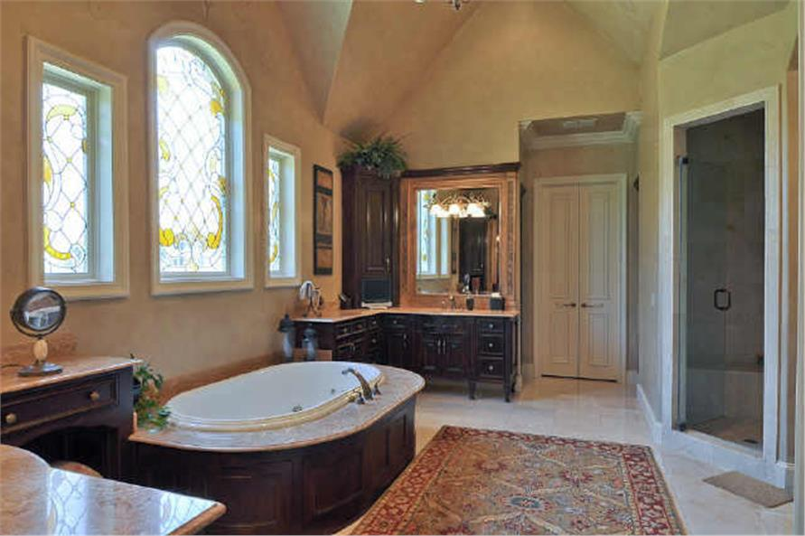 Master Bathroom of this 5-Bedroom,7823 Sq Ft Plan -7823