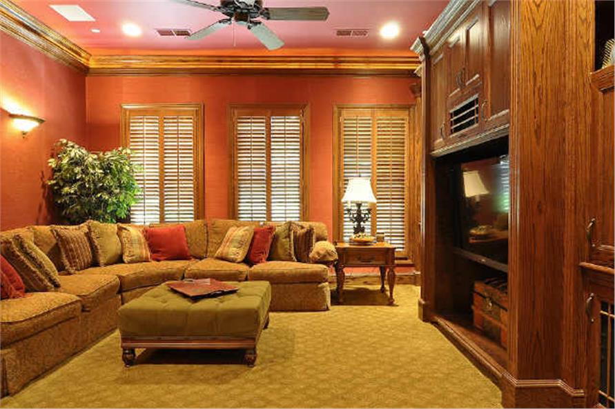Media Room of this 5-Bedroom,7823 Sq Ft Plan -7823